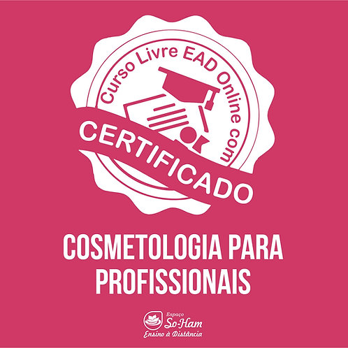 Cosmetologia Para Profissionais Curso EAD Online