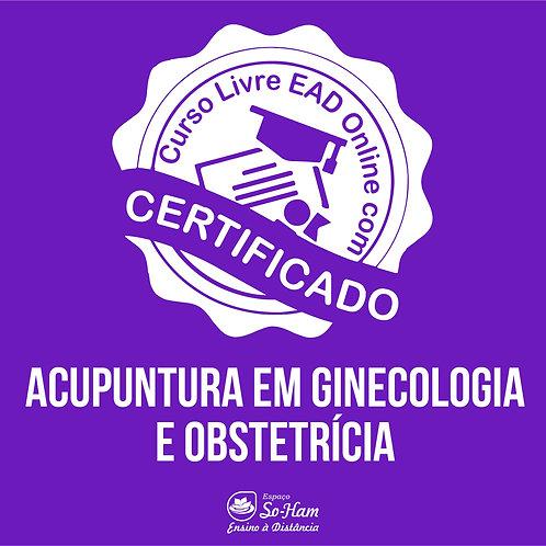 Acupuntura em Ginecologia e Obsterícia Curso EAD Online