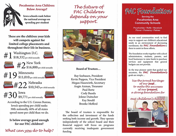 Foundation information flyer
