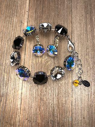 14mm Bracelet and Earrings Set