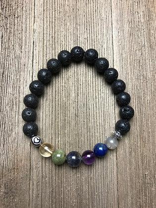 Pregnancy Healing Stone Lava Bracelet