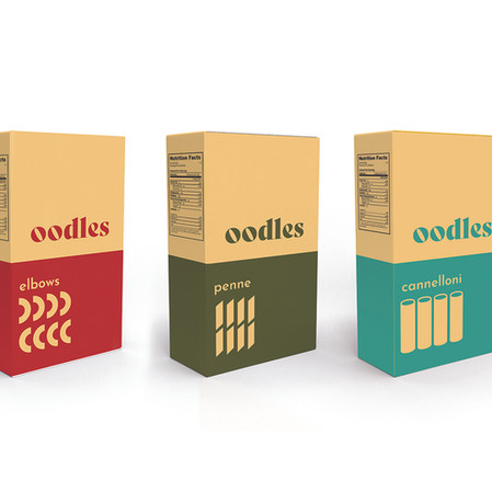 oodles mac and cheese packagaing