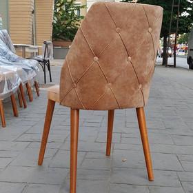 Toz Pembe Döşeme Sandalye