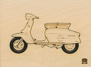 Retro Etch LAMBRETTA 200 Haynes Manual b
