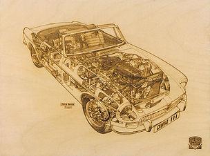 Retro Etch MGB Haynes Manual by Terry Da