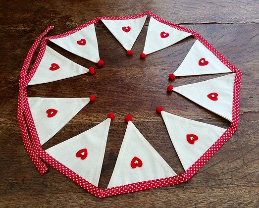 Red Heart/Charm Bunting BTA