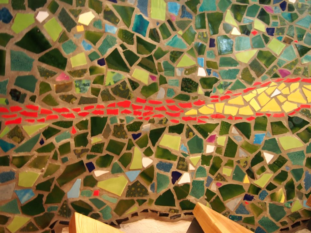 Mosaik Treppenhaus