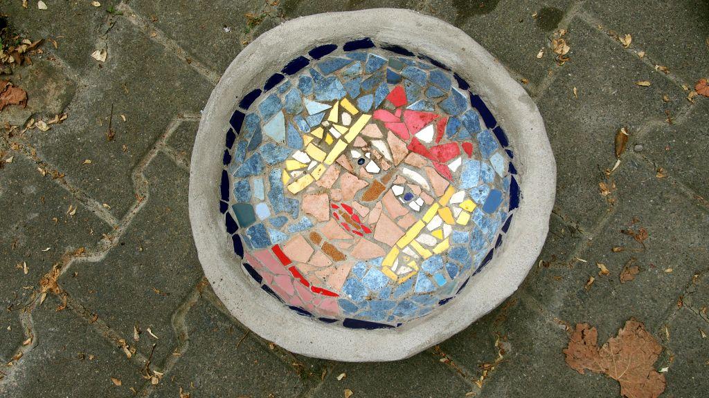 Beton und Mosaik   14 jahre
