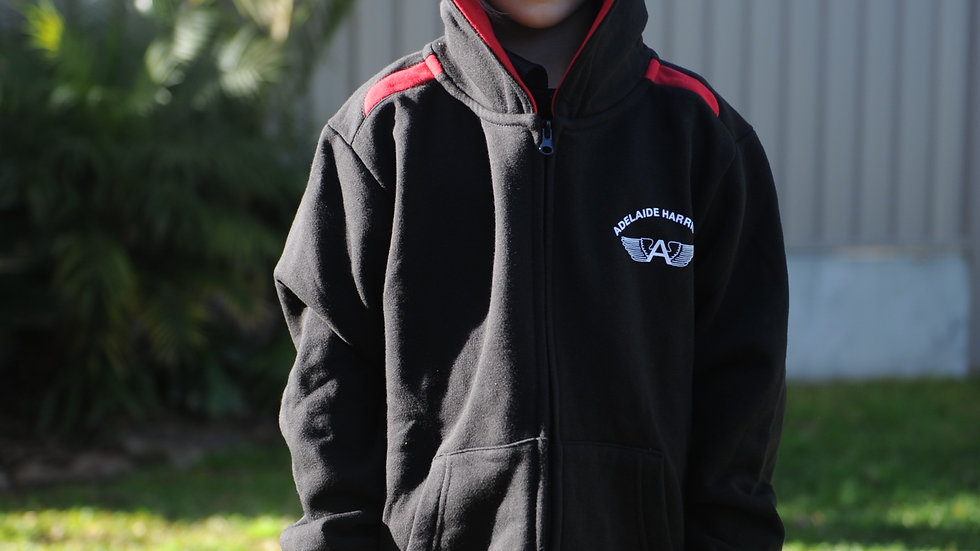 Adelaide Harriers Zip Hoodie with name - pre-order and pay