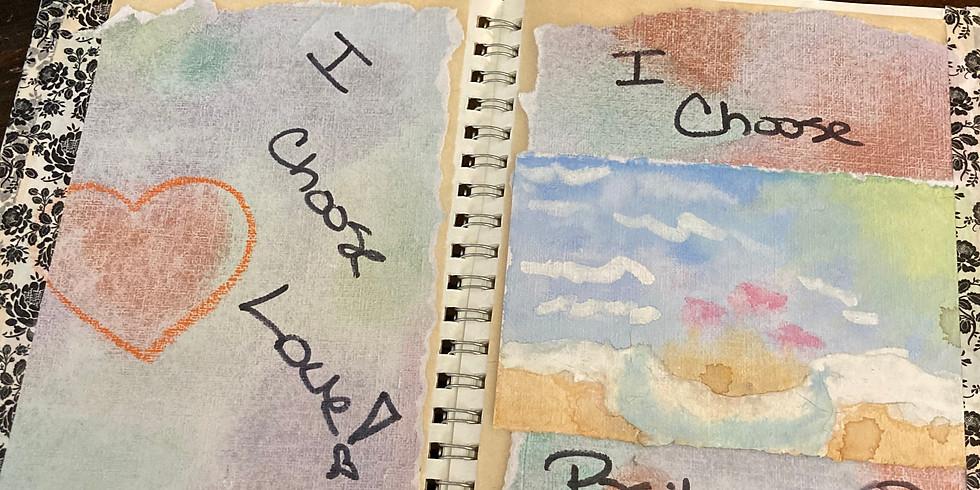 Happiness Art Journaling