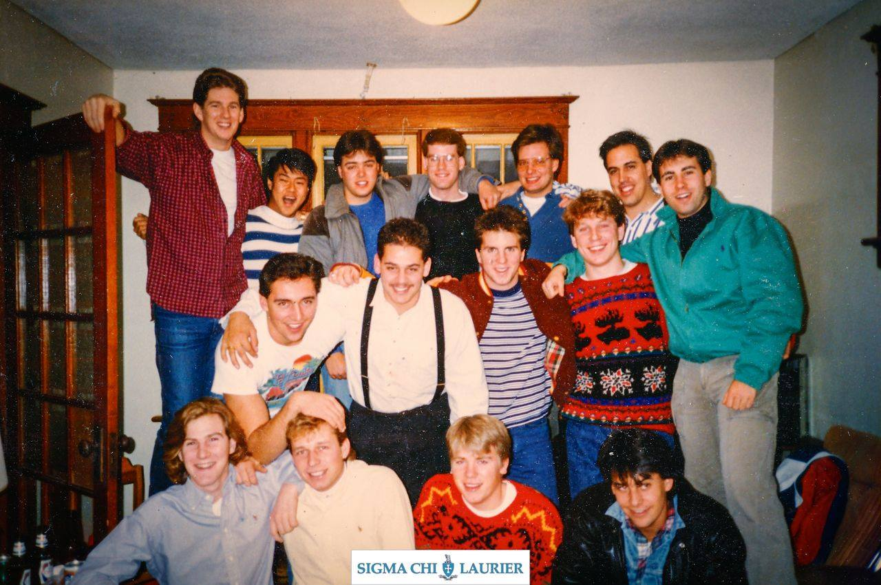 Pledge Class Beta - 1988