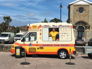 Ice cream van-