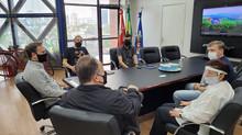 Reunião com o Prefeito de Joinville