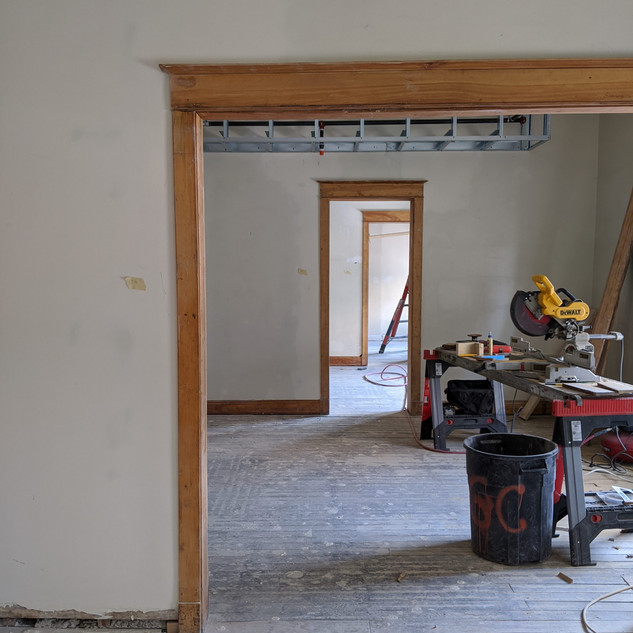 Future Community room and kitchen at 11t