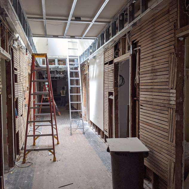 Hallway Updates - 11th Avenue Hostel
