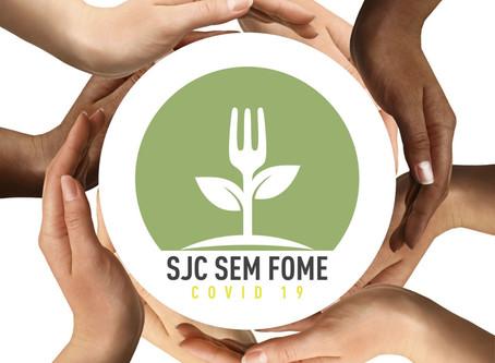 """Movimento """"COVID19 SJC SEM FOME"""" organiza rede de apoio às famílias carentes de São José dos Campos"""