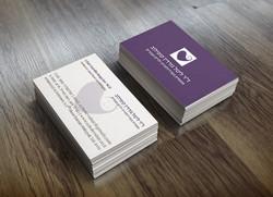 עיצוב כרטיס ביקור לרופאה