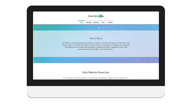 עיצוב אתר לחברת סטארטאפ