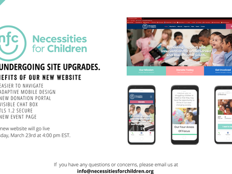Announcing the Launch of Necessities For Children Redesigned Website