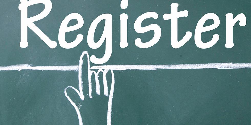 Program Registration (Ongoing - No Deadline to Register)