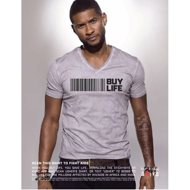 Usher Buy Life Campaign