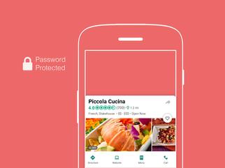 Restaurants' details page redesign