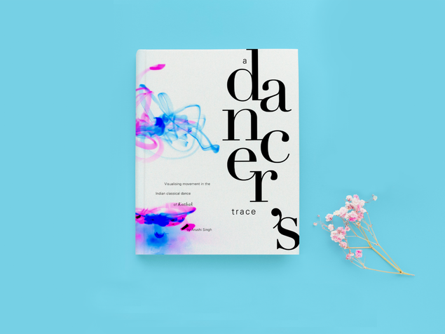 Dancer's trace IV: Book design