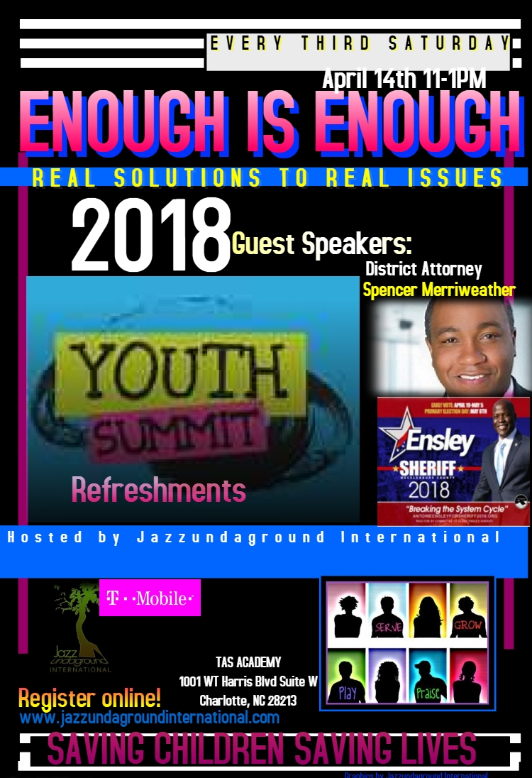 APRIL 14 YOUTH SUMMIT FLYER