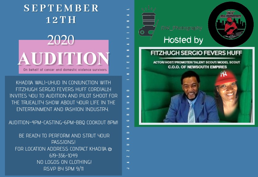 sept 12 2020 audition