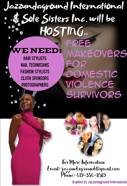 FREE MAKEOVERS FOR DV Sole Sisters Inc