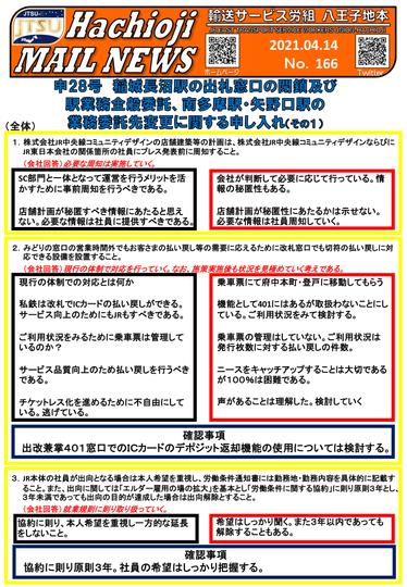 No.166 -2021.4.14- 申28号交渉開催①