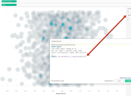 How to add Tableau Parameters in Python code?