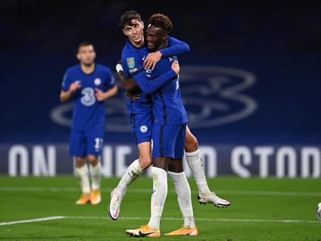 Chelsea vs Rennes - Upphitun