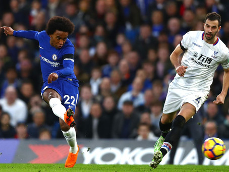 Crystal Palace mæta á Stamford Bridge