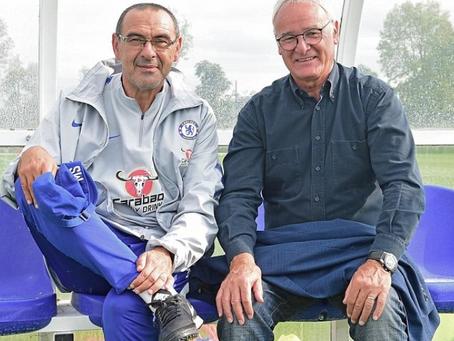 Sarri fær Ranieri í heimsókn