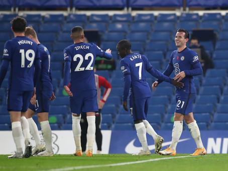 Chelsea áfram í undanúrslit í FA Cup bikarnum eftir sigur á Sheffield United