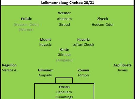 Leikmannalaug Chelsea 2020/21