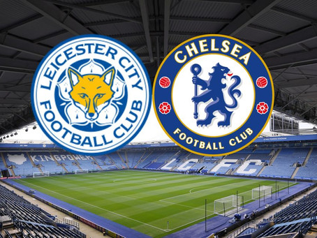 Leicester City vs Chelsea - upphitun