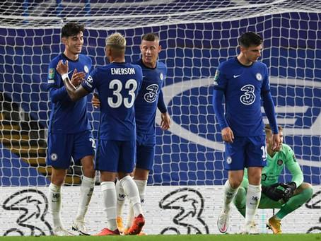 WBA vs Chelsea - upphitun