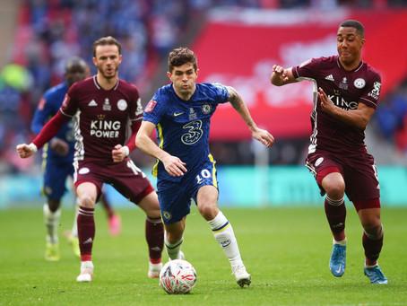 Chelsea – Leicester, seinni úrslitaleikur – nú á heimavelli.