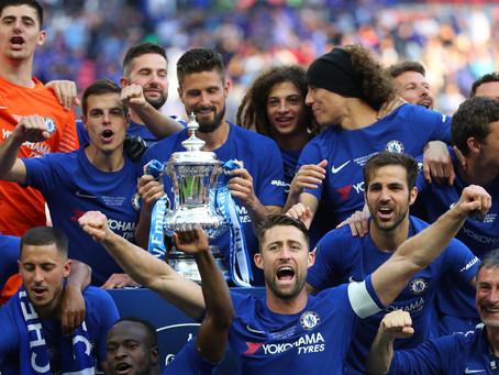 Chelsea eru FA bikarmeistarar 2018!