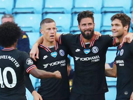 Chelsea vs. Man City - upphitun