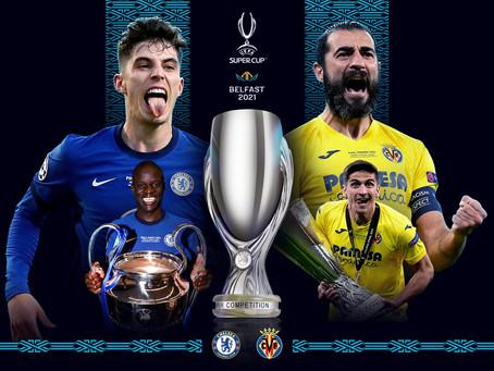 Leikur um Ofurbikarinn - Chelsea vs Villarreal: Upphitun