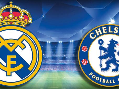 Real Madrid vs Chelsea -  Upphitun fyrir undanúrslit Meistaradeildar Evrópu