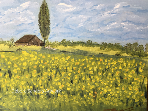 In the Meadow - Yellow