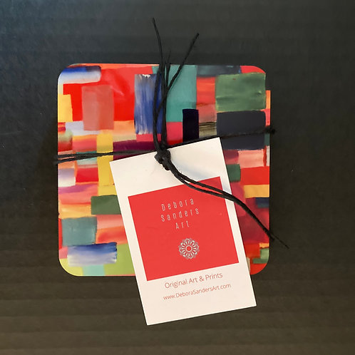 Coasters - Color Patchwork