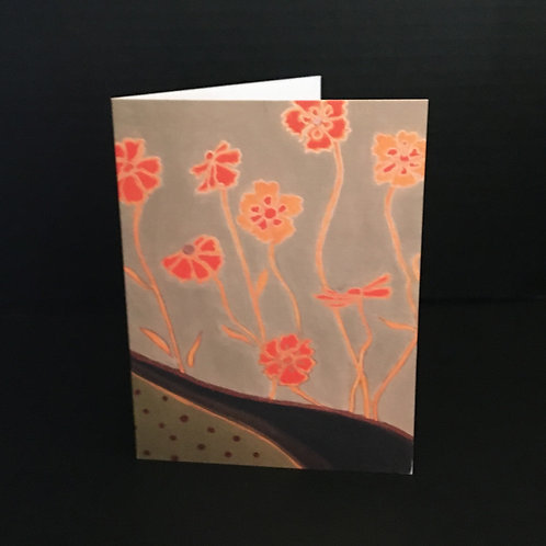 Orange Marigold Notecard
