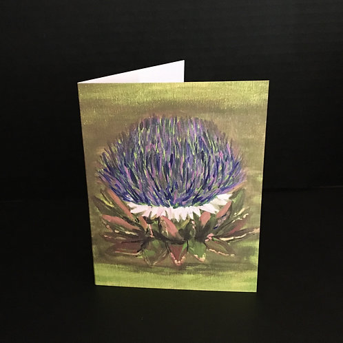 A Bonnie Thistle - Floral Series