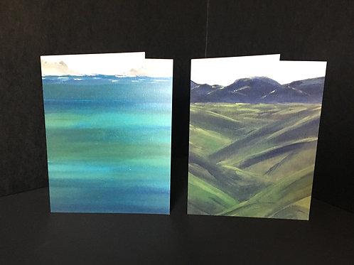 Land & Sea Notecard