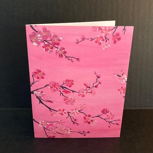 Delicate Bloom Notecard